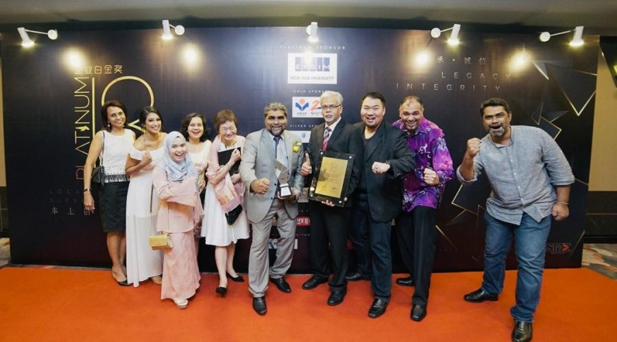 BAC wins the coveted SME Best Overall Award at the Platinum Business Awards 2018