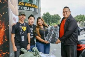 MIRM Student Club's donation drive brought relief to Kuantan flood victims