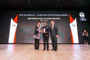 BAC wins the prestigious ASEAN Business Awards (ABA)'s SME Excellence award in Corporate Social Responsibility