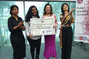 BAC student emerges Champion of English Speaking Union (ESU) of Malaysia's Public Speaking Competition 2019