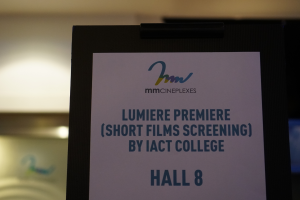 Short Films By IACT Students Take Centrestage At Lumiere Premiere 2019