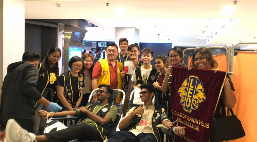 BAC Leo Club Blood Donation Drive 2020: Heroes Come In All Types