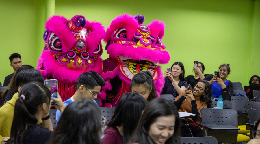 Lion Dance Performed @ BAC To Celebrate Chinese New Year 2020
