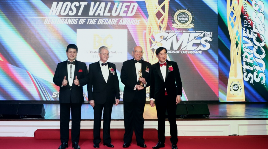 BAC Wins BrandLaureate SMEs Most Valued Best Brands of the Decade Awards 2020 – Best Brand in Education