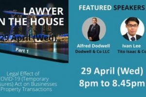 Webinar Series by BAC Singapore: Lawyer in the House (Part 1)