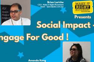 April Intake 2020 Online Orientation: Social Impact – Engage for Good