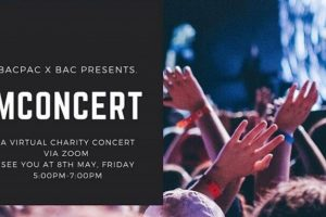 BAC Performing Arts Club Holds BAC's First Virtual Charity Concert, MCONCERT