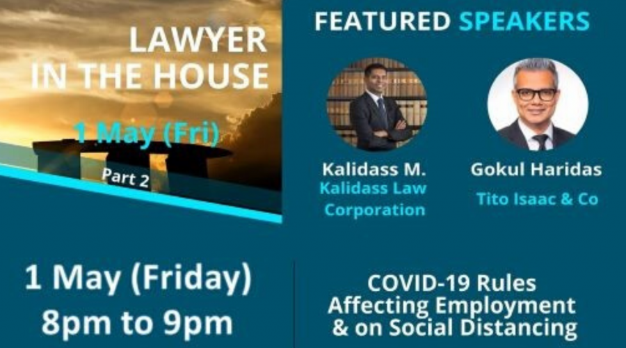 Webinar Series by BAC Singapore: Lawyer in the House (Part 2)