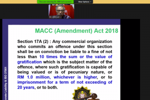 RWC Community Series: MACC Act 2009, Section 17A & ISO 37001 ABMS