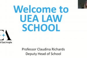 University of East Anglia Law School Information Session