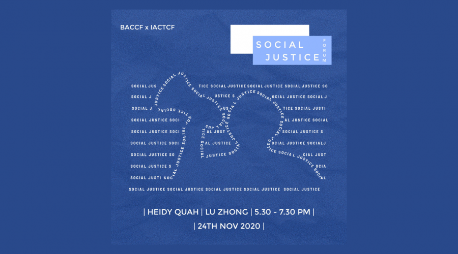 'Social Justice' Forum by Christian Fellowship