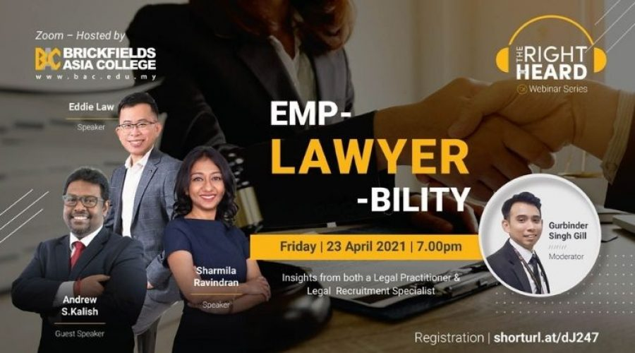 EmpLAWYERbility – The Right To Be Heard Webinar Series