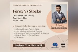 Forex vs Stocks – BAC Finance and Investment Club x Career Club