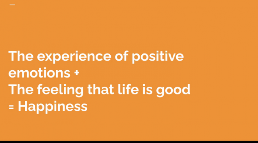 Work Different Session #1- Decoding Happiness