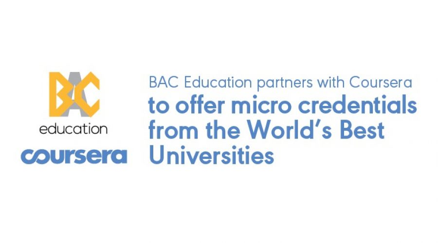 BAC Education Group partners with Coursera to impart 21st century skills